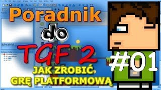 [TGF2] Poradnik: Jak zrobić grę platformową- #01 Podstawy, Grafika i Animacja obiektu | LEESOO