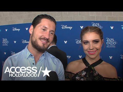 Val Chmerkovskiy & Jenna Johnson On Performing At D23; Val On Maks' 'Beautiful' Wedding