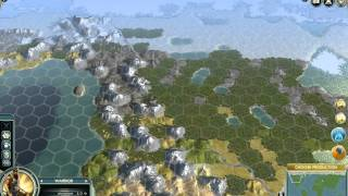 Civilization 5 1080p - The Earth Map - Huge Style