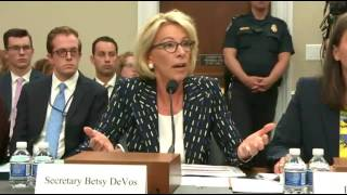 From youtube.com: Betsy DeVos On IDEA Protections {MID-291934}