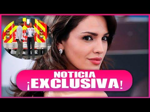Captan supuesta discusión de Eiza González y director de cin