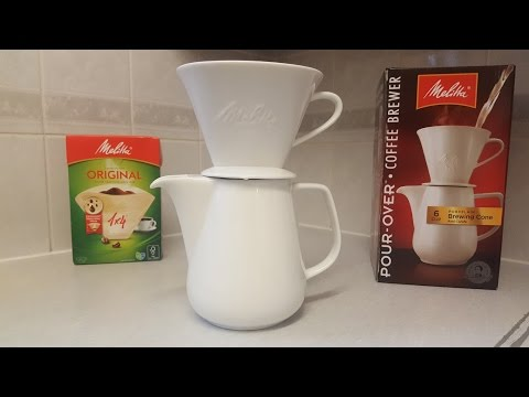 Melitta Pour Over Coffee Brewer