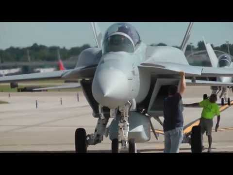 Boeing   Advanced Super Hornet Fighter Makes Its Debut Flight 720p]