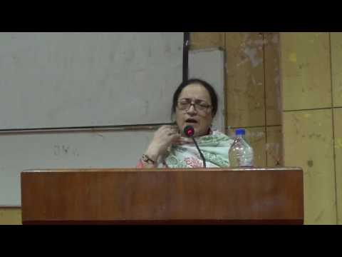 Kashmir Updates Talk by Professor Hameedah Nayeem @University of Hyderabad Pt-1