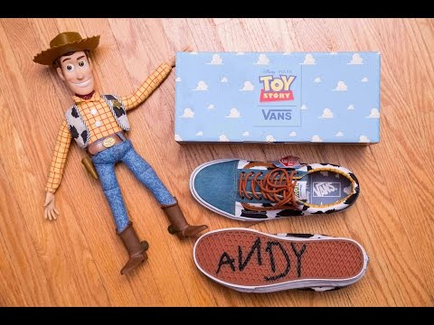 Toy Story X Vans Woody Old Skool Review And On Feet