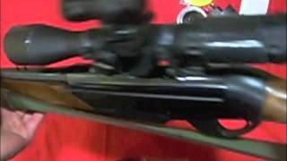 Camara de video Rifle caza