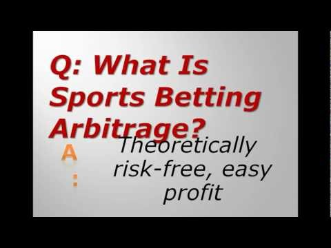 What Is Sports Betting Arbitrage?