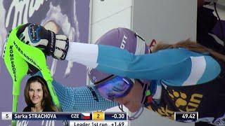 Sarka Strachova - 3rd Place - Slalom #2 - 2015 Nature Valley Aspen Winternational