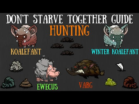 Don't Starve Together Guide: Hunting Koalefants, Vargs, Ewecus'... Oh My!