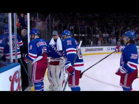 Capitals/Rangers Gm 4 Final Minute + 3 Stars MSG Feed 5/8/2013