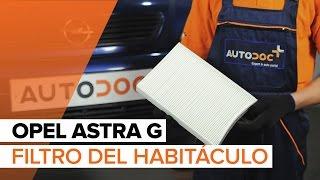 Cómo cambiar Taco de motor OPEL ASTRA G Hatchback (F48_, F08_) - vídeo guía