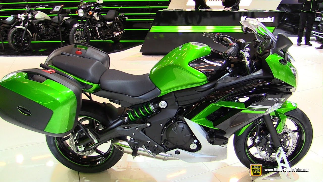 2016 kawasaki er6f abs walkaround 2015 salon de la moto paris youtube. Black Bedroom Furniture Sets. Home Design Ideas