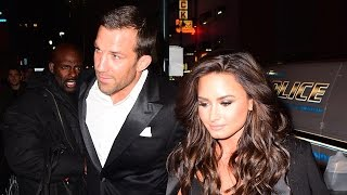 Demi Lovato and Luke Rockhold Hold Hands During UFC Date Night