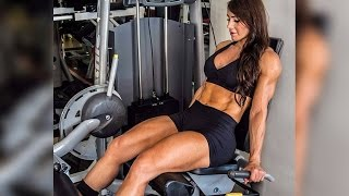 50 years young Gladys Giraldo - Female muscle