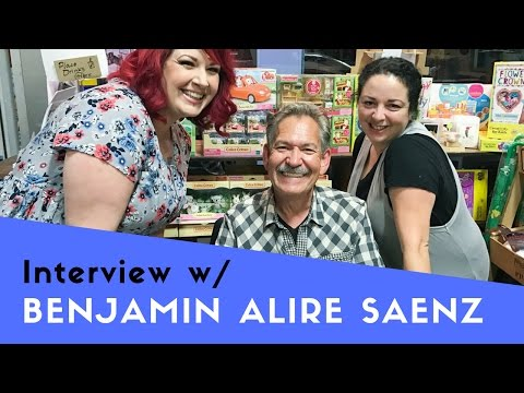 Interview w/ Benjamin Alire Saenz | Author of Aristotle & Dante Discover the Secrets of the Universe