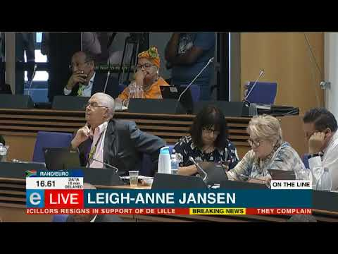 DA councillors quit in solidarity with De Lille