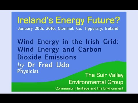 Dr Fred Udo - Wind in the Irish Grid