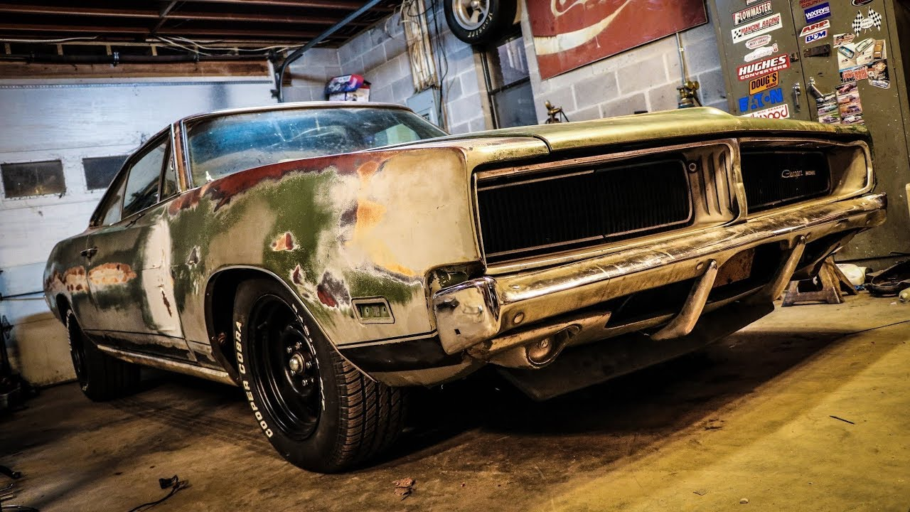 RATTY 1969 CHARGER ALMOST CROSS COUNTRY READY!