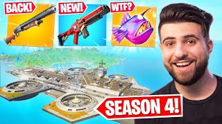 Everything Epic DIDN'T Tell You In The SEASON 4 Update! (Pump BACK, New Abilities + MORE) - Fortnite