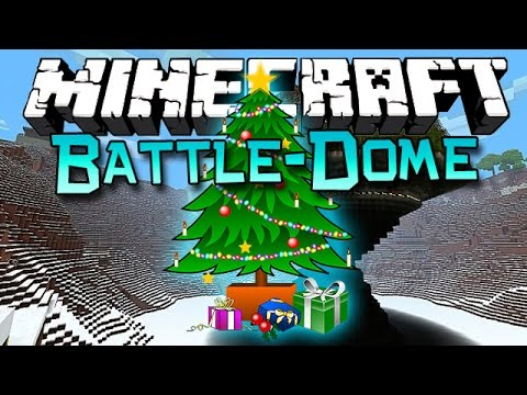 Minecraft: Battle-Dome Christmas Tree Edition!