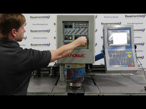 Euromac CX1000/30 33 Ton CNC Punching Machine With Tooling