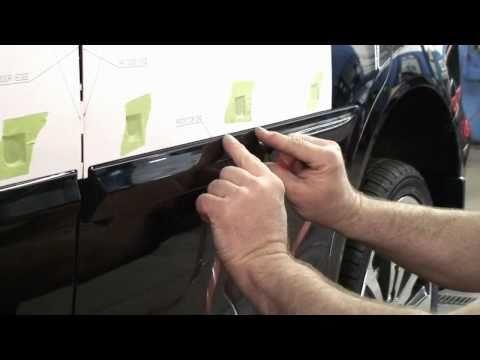 Episode #203 - 9th Gen Honda Civic 4dr Body Side Molding Installation (2012)