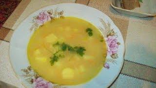 Постный гороховый суп.