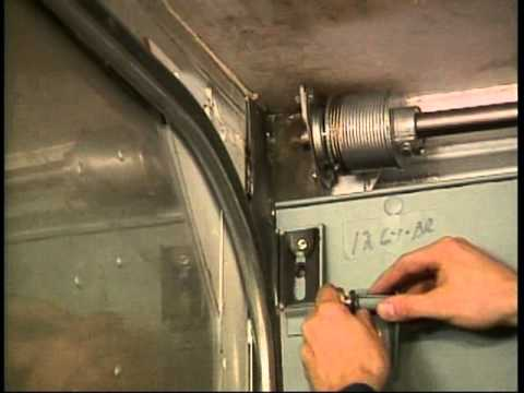 Whiting Door General Purpose Roll-Up Door - Top Panel Adjustment - YouTube & Whiting Door General Purpose Roll-Up Door - Top Panel Adjustment ...