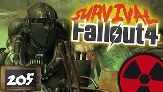 FALLOUT 4 - SURVIVAL - 205 Der Kinderfresser am S gewerk  DEUTSCH Lets Play Fallout 4