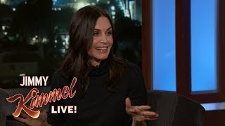 Courteney Cox on Visiting Her 'Partner' Johnny McDaid in England