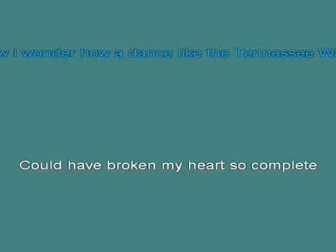 Hank Williams   Tennessee Waltz [karaoke]