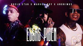 Смотреть клип Guelo Star, Marvel Boy & Anonimus - Ellas Piden