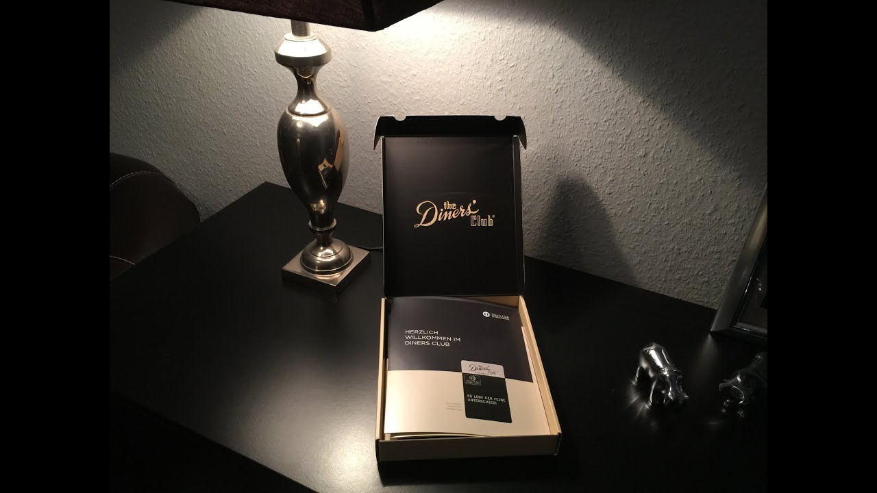 The Diners Club Vintage Card - Welcome Package unboxing - YouTube