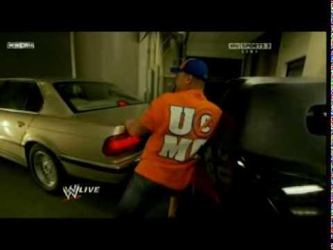 Bret The Hitman Harts Injury On Monday Night Raw 2-15-10