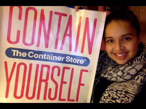 HAUL: The Container Store