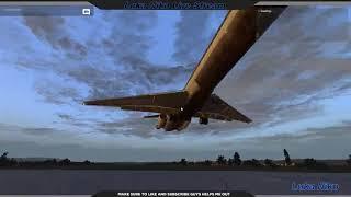 LIVE-STREAM | XP11 | Rotate MD80 | XEnviro | LEPA | first landing