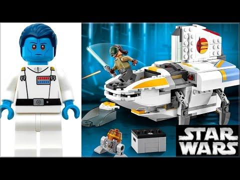 LEGO Star Wars 75170 The Phantom Обзор
