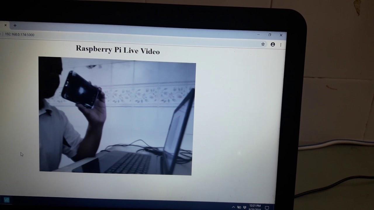 Raspberry Pi Lesson: Web Server Live Video « Blog