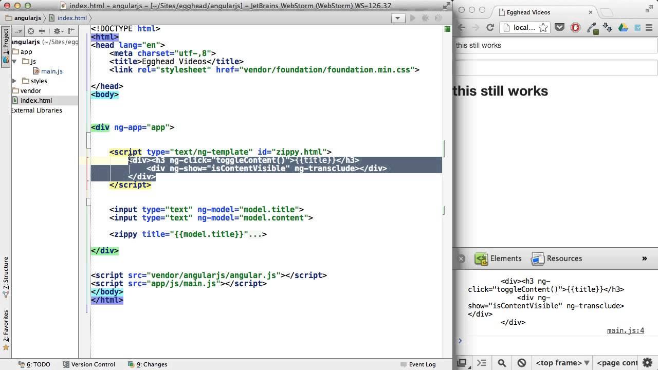Egghead angularjs templatecache youtube egghead angularjs templatecache pronofoot35fo Gallery