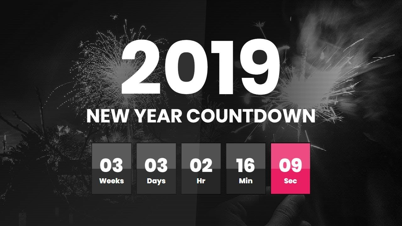 Simple Countdown Clock Website Page | Final Countdown Timer Plugin