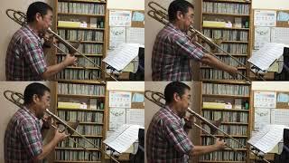 山口 かおり Kaori Yamaguchi トロンボーン四重奏 Trombone Quartet あ...