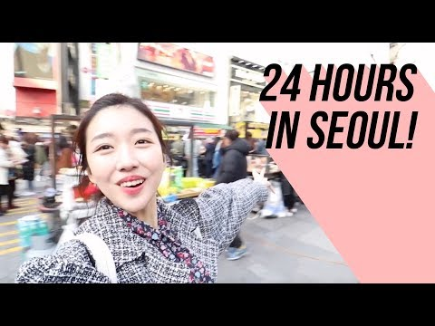 24 HOURS IN SEOUL | Where to go, What to eat & where to SHOP!