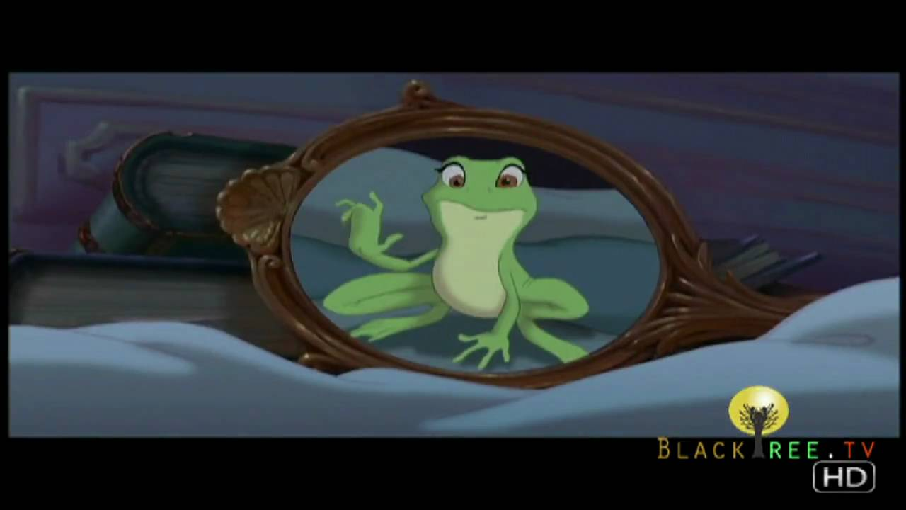 Disney turned me into a frog and tiana into a princess for Frog transformation