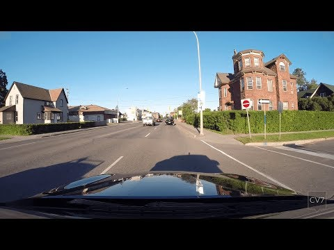 Exploring The Streets Of Thunder Bay ON (Time Lapse)