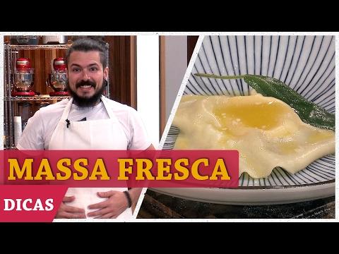 COMO FAZER MACARRÃO CASEIRO Com Aluísio | DICAS MASTERCHEF