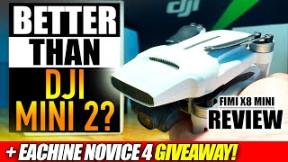 Better than DJI Mini 2? - FIMI X8 MINI 4K Folable Gps Drone - REVIEW, FLIGHTS, & GIVEAWAY