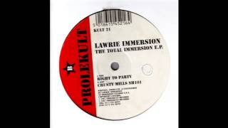 Lawrie Immersion - Right To Party (Acid Techno 1997)