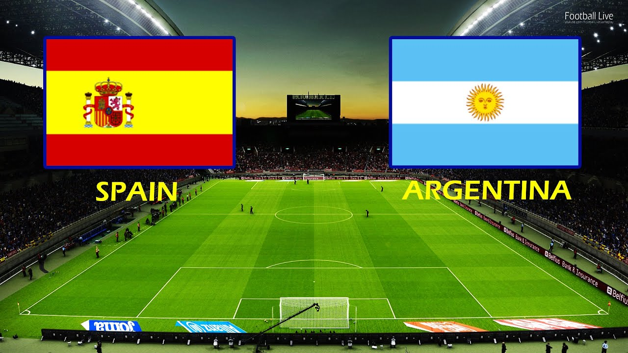 Pes 2021 Spain Vs Argentina Olympic Games Tokyo 2020 Football Full Match All Goals Hd Youtube