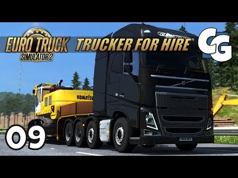 [ETS2] Trucker for Hire - Ep. 9 - Heavy Hauling to Sheffield - ETS2 ProMods 2.17 Let's Play