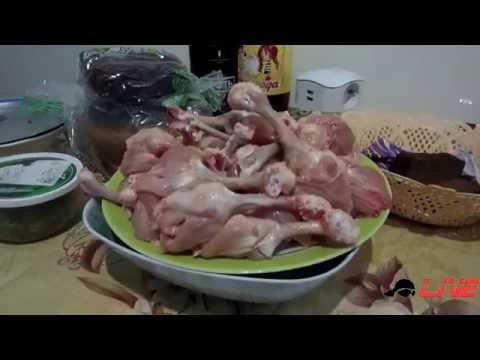 Настоящий рецепт приготовления жаренных куриных крылышек в кукурузных хлопьях типа  KFC